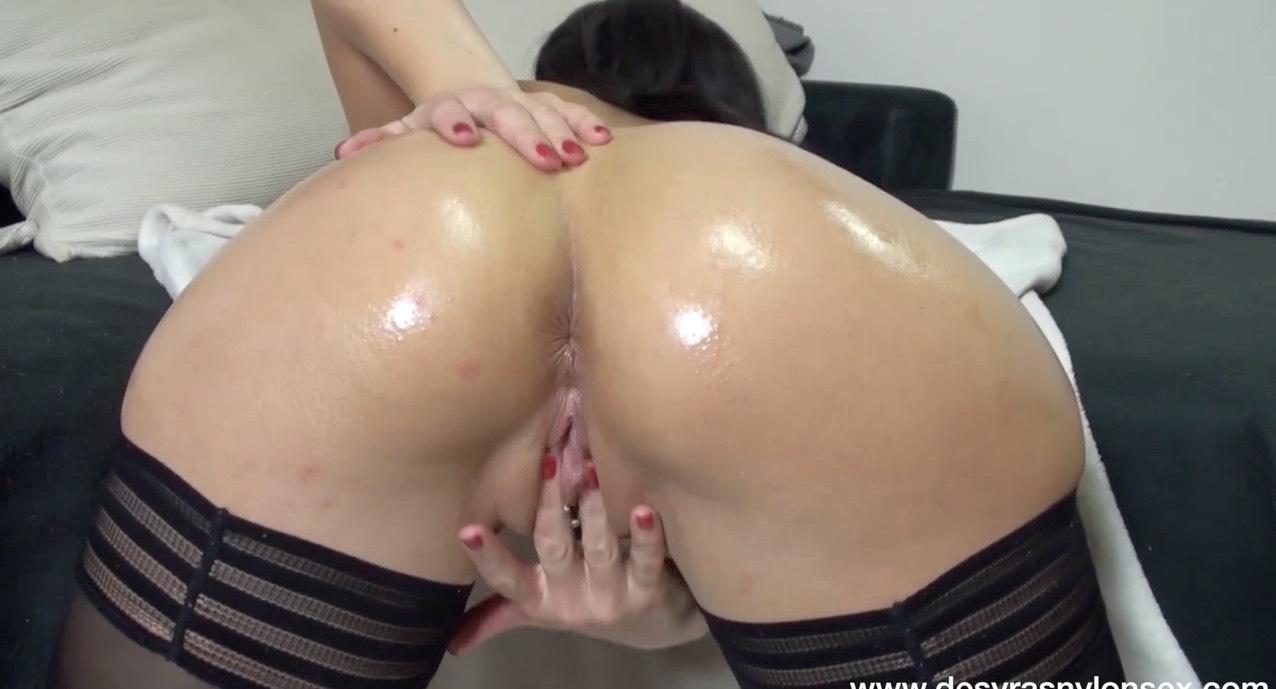 Beautiful Stockinged Ass