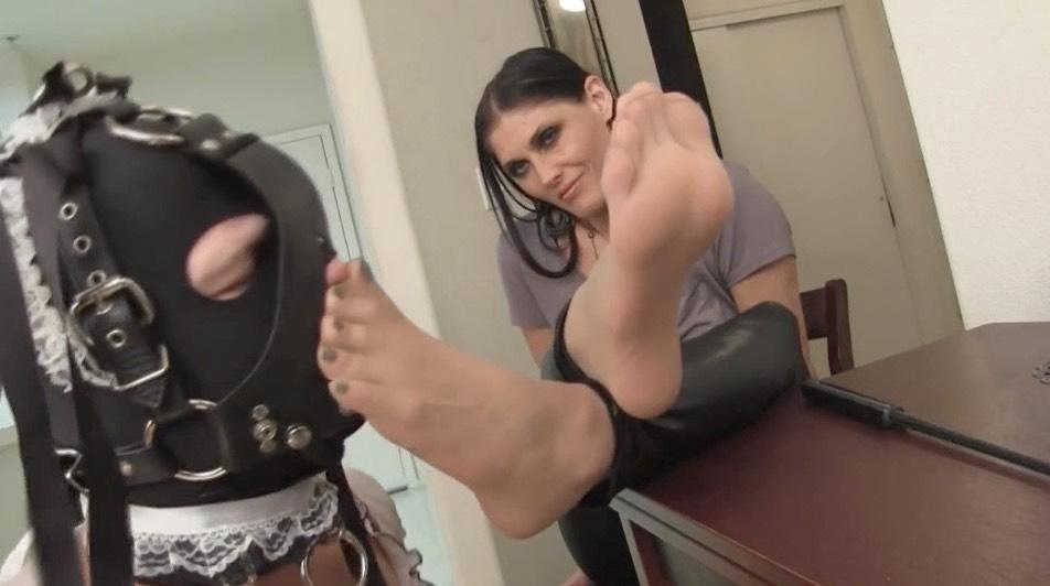 Pantyhose Slave Worship