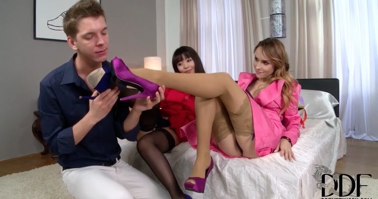 Stockinged Feet to Smell