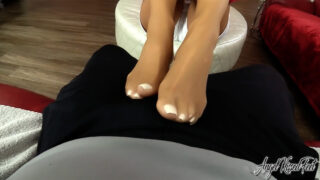 Angel Kissed Footjob