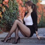 Sheer Pantyhose Goddess