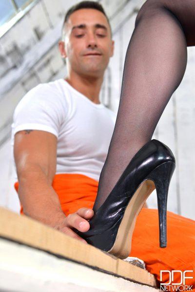 Sheer Nylon Seduction